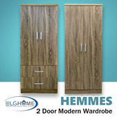 【HEMMES】Wardrobe/Cabinet/Cupboard/Home Organizer/Furniture/Office/Rack/Modern Wardrobe/Stylish Cloth