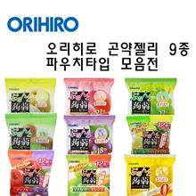 Japanese straight mouth Orihiro konjac jelly pouch type special price exhibition / 6 pieces / 12 pieces / konjac jelly to eat /