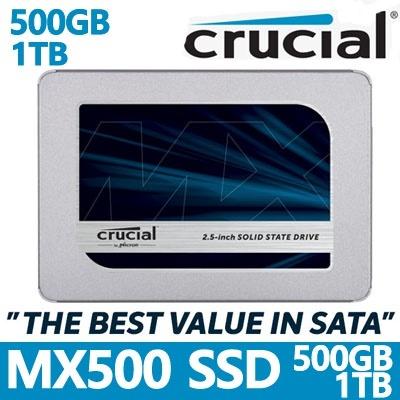 🔥Crucial MX500 500GB /Samsung 860 EVO / SanDisk SSD PLUS 480GB