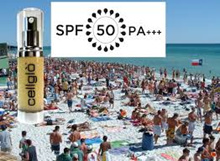 cellglo Moisturising Sunblock SPF50 PA+++ (high protection non-sticky)Hydrate and face lift