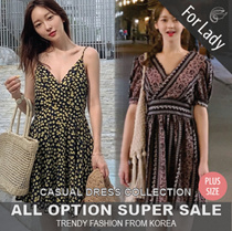♥Buy Get Free Gift♥21st Update ♥Korean Style♥ Linen / Casual Dress / LOOSE Fit  / Basic / Plus Size