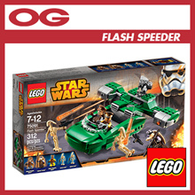 ♥ LEGO STAR WARS Flash Speeder 75091 ♥