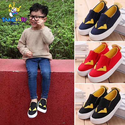 bf0145e23 Tommy small Monster rabbit children s canvas shoes children s shoes boys  shoes baby shoes for