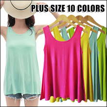 BABY DOLL DRESS FLARED BOTTOM BLOUSE SLEEVELESS LOOSE FIT TOP COTTON BROAD U TEE