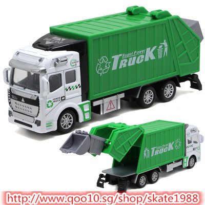 Qoo10 New Toy Car Garbage Truck Toy Children Baby Kids Toys Bus