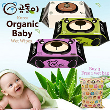 3aug restock Gomdoli ♥Premium Quality♥ Korean Organic Wet Wipes/ Wet Tissue / Made in Korea