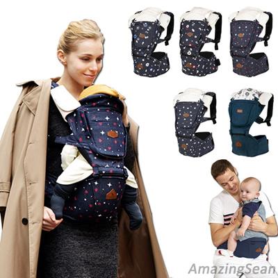 I Angel Denim Hipseat Hipseat Carrier 5 Colors Backpack Ergonomic Design Korean Baby Carrier Mesh Cooling High Quality Baby Carrier