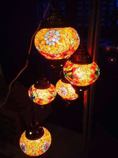 Qoo10   Turkish Mosaic Lamps : Furniture U0026 Deco