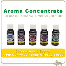 Aroma Concentrate [For use in Humidifier/ Water Vacuum/ Bathtub]5 x 30ml bottle(Trial Pack)