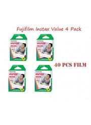 Fujifilm Instax Mini Film Value Pack (4 Pack) for 7S 50S 25 8 Camera