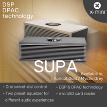 *New Launch* X-mini™ SUPA Vintage Speakers