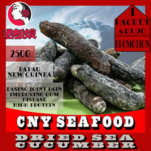 Papua New Guinea Small Sized Sea Cucumber ! 250g For Only $49.90 ONLY !