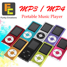 [Funky Creations] MP3 MP4 Portable Player for Everyday Use FM radio Audio Voice Recorder eBook