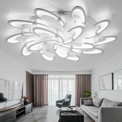 2018 Modern Wrought Iron Acrylic LED Ceiling Interior Lighting Home  Improvement Ceiling Light Surfac
