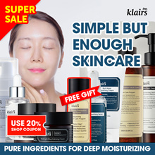 ☆20% +FREE TONER☆[KLAIRS] Skin Care Products: toner serum cream moisturizer sunblock
