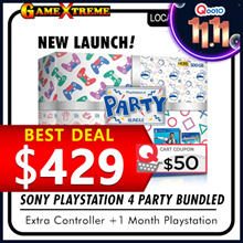 ★NEW LAUNCH★ SONY Playstation 4 PARTY Bundle. FIFA 2019 Overcooked II and Additional Controller! Local Stocks and Warranty!