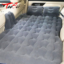 Car Rear Seats Covers Bed Air Mattress Inflatable Travel Bed Cushion