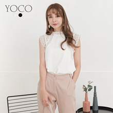 YOCO - Floral Textured Top-190463