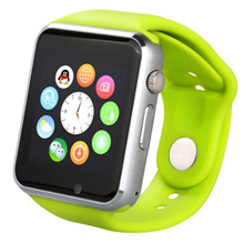 SMART WATCH A1 / SMARTWATCH U10 Green Hijau SIMCARD MICRO MEMORY CARD NO BOX