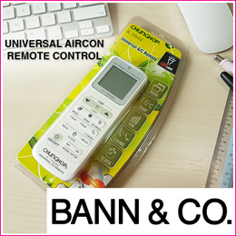 Universal Aircon Remote Controller - Compatible With More Than 180 Aircon Brands