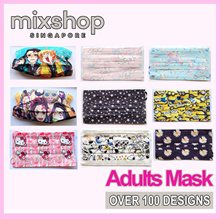 (SG Local 3 for $10) Design disposable mask color face mask for ADULT and Kids / face mask 2