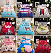 Cartoon Fitted Bedding Sets/Bed Sheet/Pillowcase / Premium Cotton Bedsheet Single / Queen