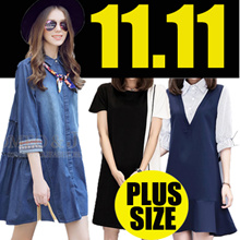 【11.11】600+ style S-7XL NEW PLUS SIZE FASHION LADY DRESS OL work dress blouse TOP