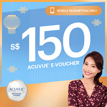 FREE $20 Shopping voucher★$150 ACUVUE OASYS 2-Week Lens BUNDLE★FREE Revitalens Worth $56