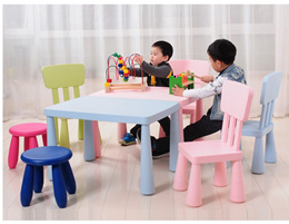 Children Furniture Furniture 1pc Premium Plastic Diy Kinder Table And Chair Set With Colorful Alphabet Kinder Study Table Activity Fun Child Toy