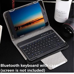 iOS / Android / Windows 7 / 8 / 9 / 10 inch 3 in 1 Universal Wireless Bluetooth Keyboard Tablet Prot
