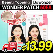 LAST DAY OF SALE!! Limited 100p★Dr.Wonder★Wonder Patch Plus - Acne Patch / Foot Care Sheets