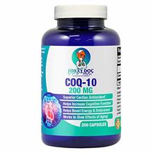 💖$1 Shop Coupon💖  CoQ10 - Co-Enzyme Q10-200 mg - 200 Caps - High Absorption - Veg. Caps - Non-GMO