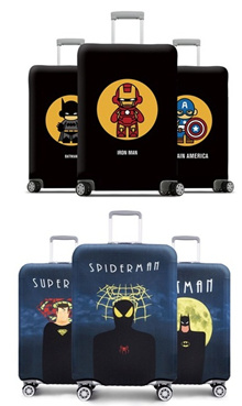 Marvel Super Heroes Luggage Protector Cover / High Quality Luggage Protector Cover