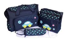 4 IN 1 Diaper bag Tas Perlengkapan bayi travelling bag multifungsi