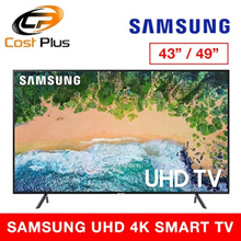 Samsung 43NU7100 |49NU7100 |55NU7100 Flat 43 4K UHD 7 Series Smart LED TV (2018) | 3YEARS SAMSUNG