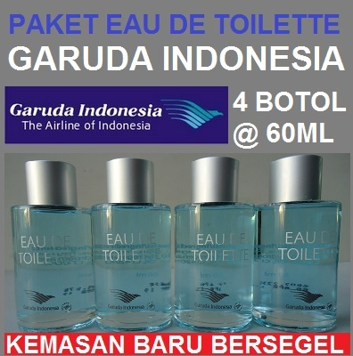 PAKET SPESIAL EDT GARUDA INDONESIA 4 X 60ML Deals for only Rp200.000 instead of Rp200.000