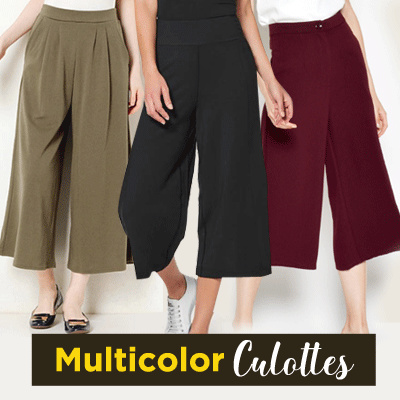 New Collection...!!! Woman Pants Kulot Style/Celana Kulot/Casual Kulot/Ladies Kulot Deals for only S$17.57 instead of S$0