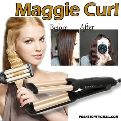 Maggie Curl Wave Hair Roller And Curler Crimpers Waver