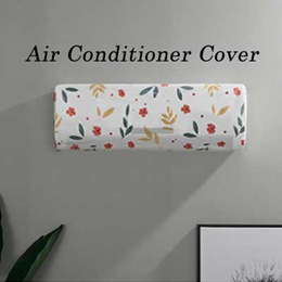 ◆ Air Conditioner Cover (type B) ◆ waterproof cover / cute pattern / dust cover aircon cover