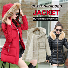 2018 women winter down jacket / couple wear coat  /-30 to 20 degrees/ Cotton-Padded Jacket/ Wind rai