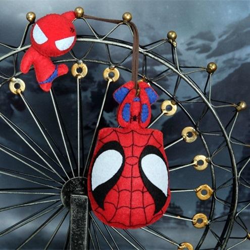 Crochet Spiderman Amigurumi / Figurine #keychain, Design & Craft ... | 495x495