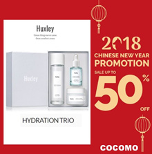 ❤ U.P = $179.90 NOW $69.90 ❤ HYDRATION TRIO SET ❤ BY KOREA MULTIPLE AWARD WINNING BRAND HUXLEY ❤