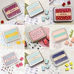 Korea Stationery!🌺 Cute DIY Creative Cartoon Rubber Stamper🌺Great gift for Children