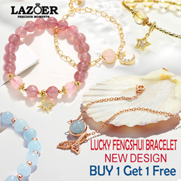 ♦Buy 1 Free 1♦Customized Size♦ Natural Gemstones Bracelet♦Beauty/Wealth/Lucky/Health/Fortune/Career