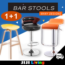 [1+1] ★Bar Stools | Chairs ★Ergonomic ★Gaming Chair ★Certified SGS Hydraulic Pump