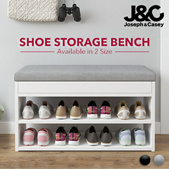 60cm/80cm  Shoe Rack / Shoe Storage Cabinet/ Shoe Organizer/Wooden Shoes Rack With Seat/