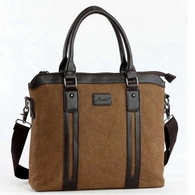 Men Sling Shoulder Canvas Bag / Laptop Bags / Formal Casual Fashion Bags Deals for only S$39.9 instead of S$0