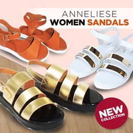 NEW COLLECTION ~ ANNELIESE WOMEN SANDALS