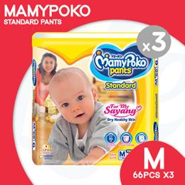 [Unicharm] Mamypoko Standard Pants Super Jumbo Medium (66pcs x 3 packs)