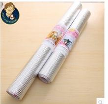 2433 aluminum kitchen cabinets mat Japanese-style multi-purpose mat insole oil pad single roll